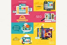 Seo Optimization and Web Design by robuart on Creative Market