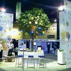 Gallo, a marketing communications firm, approached Commercial Silk Int'l for a unique trade show booth idea for their exhibit at a Las Vegas conference. The branded artificial tree would be used to unify and extend Gallo's recent marketing pieces. http://www.commercialsilk.com/artificial-plant-case-study_artificial-maple-tree-unifies-marketing-campaign_89.aspx