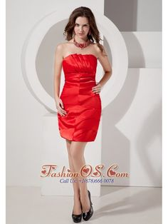 Buy strapless mini length red ruched prom cocktail dresses with zipper for cheap from lovely prom dresses shop, strapless neckline column/sheath red prom dress,cheap mini length prom party homecoming graduation birthday party dress with zipper back and . Unique Cocktail Dresses, Cocktail Dresses Online, Strapless Cocktail Dresses, Cocktail Dress Prom, Evening Cocktail, Brown Prom Dresses, Junior Homecoming Dresses, Cheap Prom Dresses, Dama Dresses