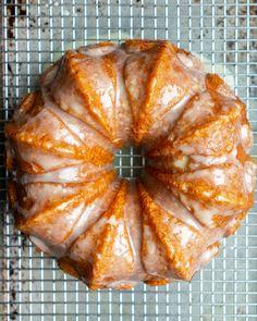 Whole Orange Cake, Orange Bundt Cake, Orange Juice Cake, Orange Cakes, Cake Recipes, Dessert Recipes, Dessert Food, Bread Recipes, Orange Dessert