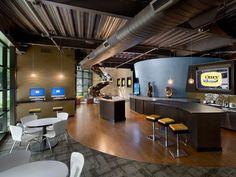 open office kitchen