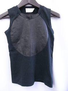 "super cute layering piece - black sweatshirt ""vest"""
