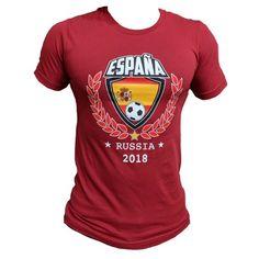 de574846f83 Men s Spain Soccer Team World Cup 2018 Slim Fit T-Shirt (L) W47