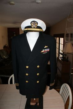 WW 2 US Navy Submariners Reefer jacket