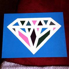 AdPi diamond #sorority #crafting #initiation