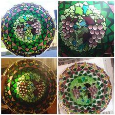 Grape mosaic