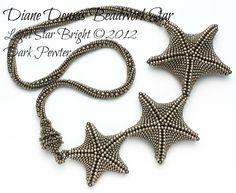 Star hellen Sterne hell Halskette Kit in von DianeDennisBeadwork