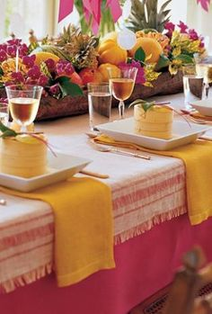 TABLE SETTING  #tablescape