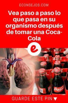 Coca cola hace mal   Vea paso a paso lo que pasa en su organismo después de tomar una Coca-Cola   Vea paso a paso lo que pasa en su organismo después de tomar una Coca-Cola