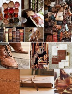 Worn Leather Inspiration | Camille Styles