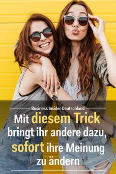 Psychologischer Trick: Mit diesem uralten Trick bringt ihr andere dazu, sofort ihre Meinung zu ändern: Artikel: BI Deutschland Foto: Shutterstock/BI