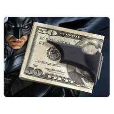 Batarang Money Clip.
