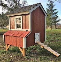 The Little Red Hen Chicken Coop Plans PDF Download