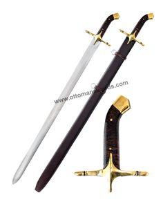 Hazrat Muhammad Saw Sword Qadib Replica Sword Turkish Bow, Replica Swords, Cane Sword, Damascus Sword, Camp Axe, Wood Arrow, Archery Equipment, Katana Swords, Cold Steel