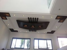 Stupefying Cool Ideas: False Ceiling Details Interior Design false ceiling home dining rooms.False Ceiling Office Home. Roof Ceiling, Ceiling Decor, Ceiling Lights, Ceiling Plan, Ceiling Ideas, False Ceiling Living Room, Ceiling Design Living Room, Roof Design, House Design