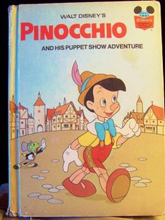 Book, Pinocchio & His Puppet Show Adventure Walt Disney Book