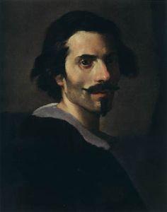 Self Portrait as a Mature Man - Gian Lorenzo Bernini.  c.1635.  Oil on canvas.  53 x 43 cm.  Galleria Borghese, Rome, Italy.