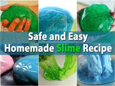 Remember playing with slime when you were a kid? Of course, the slime that you buy at the store has a few chemicals in it that you may not want your kids exposed to. A better way is to make your own homemade slime and we have a really easy recipe for you to do just that. You will need 1 cup of...