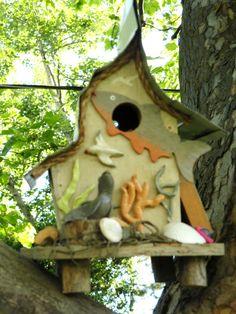 Seal Beach Birdhouse by papajonsflyinns on Etsy, $39.00