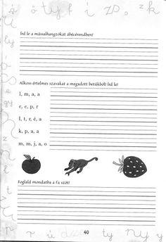 Írott betűk - kisferenc.qwqw.hu Album, Teaching, Education, Movie Posters, Erika, Pdf, School, Animals, Speech Language Therapy