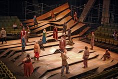 Henry IV - Dallas Theatre, Set Design by John Coyne