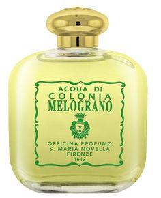 Santa Maria Novella - Melograno - Eau de Cologne. Style, luxury,old memories, precious ingredients.