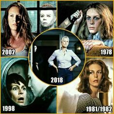 Jamie Lee Curtis as Laurie Strode in Halloween Best Horror Movies, Classic Horror Movies, Scary Movies, Ghost Movies, Halloween Poster, Halloween Movies, Halloween Horror, Halloween Pictures, Happy Halloween