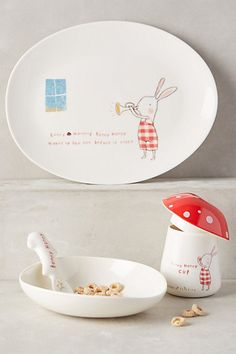 Bunny Honey Dinnerware Set #anthropologie