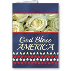 Patriot Day rose card