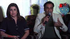 Sajid Khan, Farah Khan and David Dhawan at the launch of the book Three ...