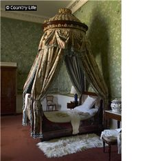 The Queen of Scots Dressing Room at Chatsworth House. Not Used CL 17/08/2011