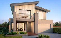 The Salamanca Home - Browse Customisation Options Simple House Design, Dream Home Design, Modern House Design, Modern Exterior House Designs, Exterior Paint Colors For House, Madison Homes, 2 Storey House Design, Facade House, House Facades