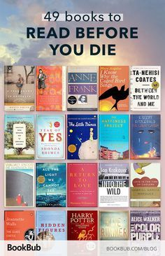 This list of bucket list books to read before you die is a good literature challenge. All of these novels are incredibly popular and will help you throughout life! #bookrecs #bucketlist #challengeaccepted