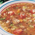 Beef Barley Soup -- this is a great soup to use up leftover roast beef!