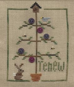 Garden Grumbles and Cross Stitch Fumbles: I'm Renewed