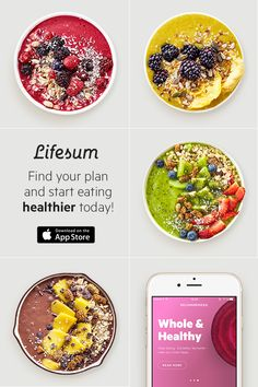 Healthy living has never been easier. Lifesum helps you eat smarter and feel better. Download free today and start your health journey!