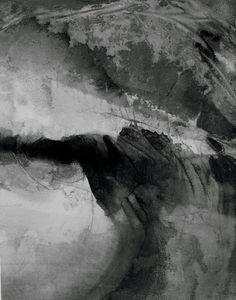 Night, 2003 by Gao Xingjian, ink on paper, 81 x 64 cm