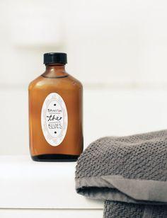 "1 ounce jojoba oil (preferably organic) 3 ounces sweet almond oil (preferably organic) lavender essential oil: 26 drops rose geranium essential oil: 12 drops ylang ylang essential oil: 12 drops lime essential oil (look for ""distilled"" lime): 8 drops bergamot essential oil (bergapten-free): 6 drops"