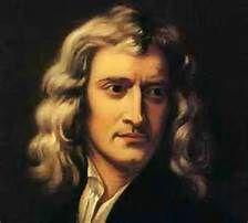 Isaac Newton werd geboren in 1643, en stierf in 1727. Isaac is de stichter van de natuurwet, hij maakte ook van een algemene theorie een persoonlijke theorie (deductie). Dit was ook wel het appel verhaal, (waarom valt de appel wel, maar de maan niet op de aarde). Dat komt omdat er rond de aarde zwaartekracht bestaat. Deze zorgt ervoor dat we niet van de aarde afvallen.