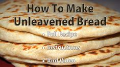 Unleavened Bread Recipe For Matzo Crackers That Will . Gluten Free Matzah: Here's What You Should Know Jewish . Home and Family Passover Recipes, Jewish Recipes, Passover Bread Recipe, Passover Meal, Waffle Recipes, Bread Recipes, Deep Dish Quiche Recipe, Communion Bread Recipe, How To Make Bread