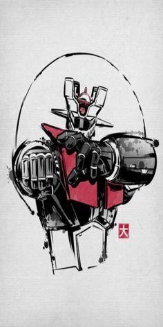 Retro Cartoons, Vintage Cartoon, Devilman Amon, Real Robots, Super Robot, Gundam, Caricature, Transformers, Dragon Ball