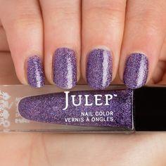 Julep - Shayla (Bombshell) purple perennial full-coverage microglitter (from the May 2015 Mystery Box)