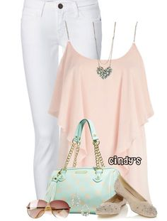 Spring 2014 Fashion Trends | Pink & Mint - Spring Fashion Outfits for Women