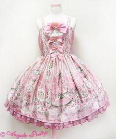 Angelic Pretty Belle Epoque Rose JSK