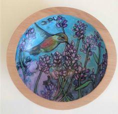 Hand painted bowls by nancyschaff nancyschaff@aol.com Sold