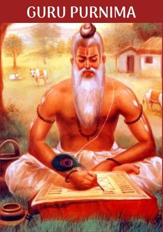 Vyasa(Vyasar)made several contributions to the Vedic literature.The festival day of Guru Purnima  is dedicated to Veda Guru Vyasa. It is also known as Vyasa Purnima,is celebrated as the day of veda Vyasa's(vyasar's) birthday and Lord buddha's first teaching.