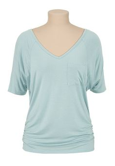 pocket cinch side tee (original price, $24) available at #Maurices