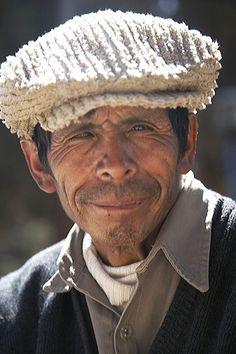 Portrait of old man, Argentina.