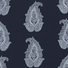 Robbins Hill Paisley – Batik - Paisley - Fabric - Products - Ralph Lauren Home - RalphLaurenHome.com
