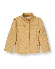 Quilted Riding Jacket - Janie and Jack (Autumn Equestrian)